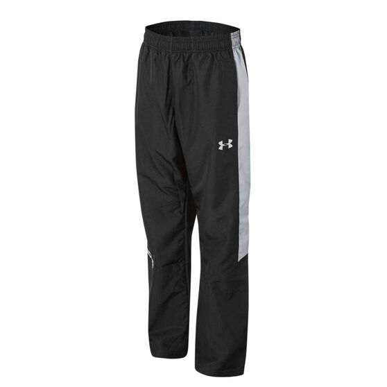 Under Armour Boys Main Enforcer Woven Pants, Black/Grey, rebel_hi-res