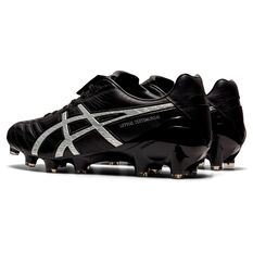 Asics Lethal Testimonial 4 IT Football Boots, Black/Silver, rebel_hi-res