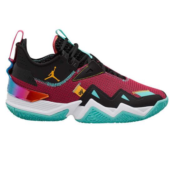 Jordan Westbrook One Take Mens Basketball Shoes, Pink/Orange, rebel_hi-res