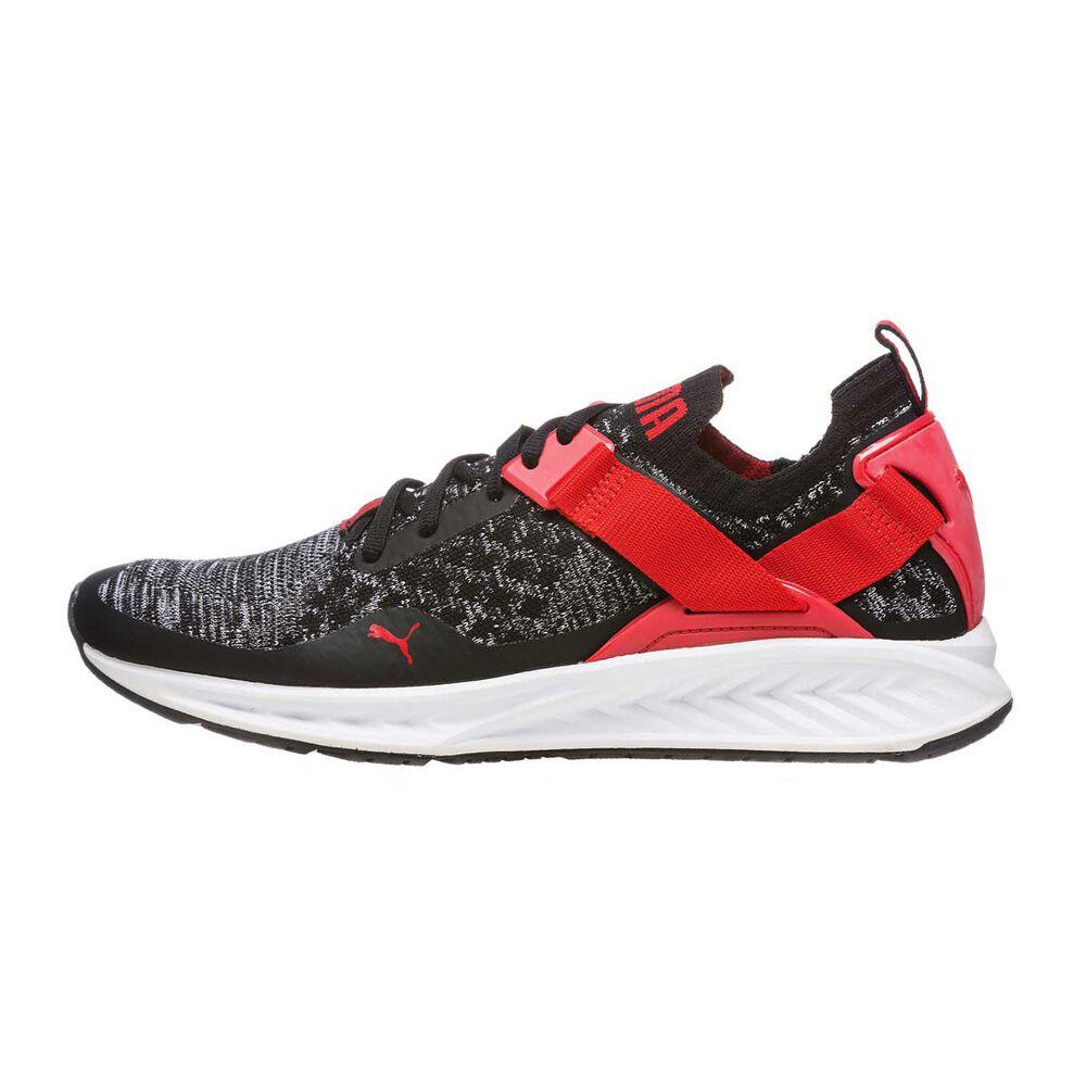 7b33e1bfb203b5 Puma Ignite Evoknit Low Mens Running Shoes Black   White US 9 ...