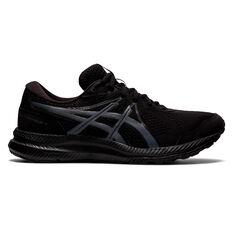 Asics GEL Contend 7 4E Mens Running Shoes Black/Grey US 7, Black/Grey, rebel_hi-res