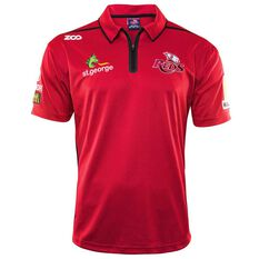 Queensland Reds 2018 Mens Media Polo Shirt, , rebel_hi-res
