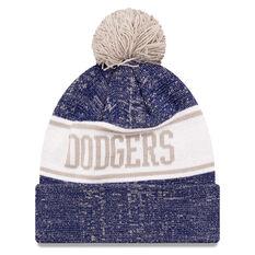Los Angeles Dodgers New Era Pom Knit Beanie, , rebel_hi-res