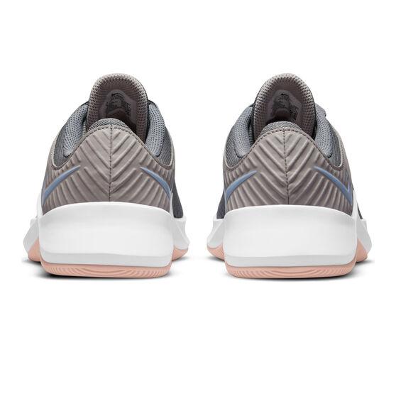 Nike MC Trainer Womens Training Shoes, Grey/Blue, rebel_hi-res