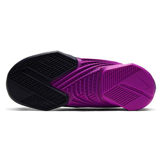 Nike React Metcon Turbo Womens Training Shoes, Blue/Red, rebel_hi-res
