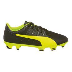 Puma evoPOWER Vigor 4 Junior Football Boots Black / Yellow US 5, Black / Yellow, rebel_hi-res