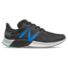 New Balance FuelCell 890v8 Mens Running Shoes Black US 7, Black, rebel_hi-res