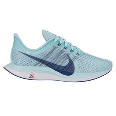 Nike Air Zoom Pegasus 35 Turbo Womens Running Shoes Teal / White US 6.5, Teal / White, rebel_hi-res
