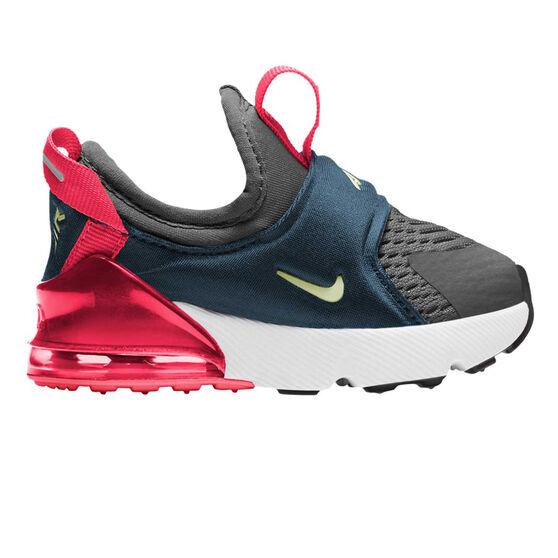 Nike Air Max 270 Extreme Toddler Shoes Black/Pink US 10, , rebel_hi-res