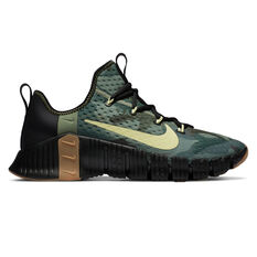 Nike Free Metcon 3 Mens Training Shoes Black/Gum US 7, Black/Gum, rebel_hi-res
