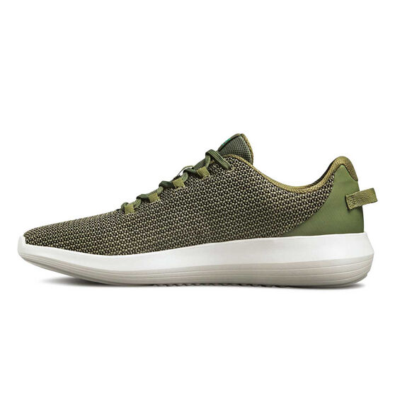 Under Armour Ripple Mens Casual Shoes, Khaki / White, rebel_hi-res