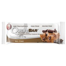 Quest Protein Bar 60G Choc Chip Cookie Dough Choc Chip Cookie Dough, , rebel_hi-res