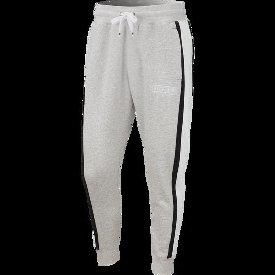 Nike Air Mens Fleece Pants, Grey, rebel_hi-res