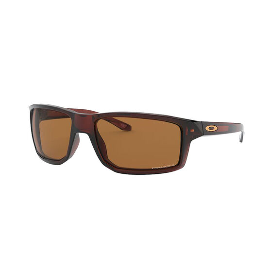 OAKLEY Gibston Sunglasses - Polished Rootbeer with PRIZM Bronze, , rebel_hi-res