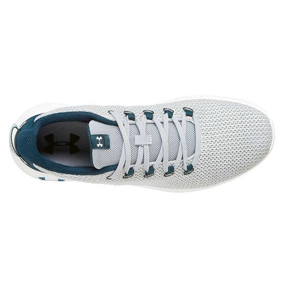 Under Armour Ripple Mens Casual Shoes, Grey / Black, rebel_hi-res