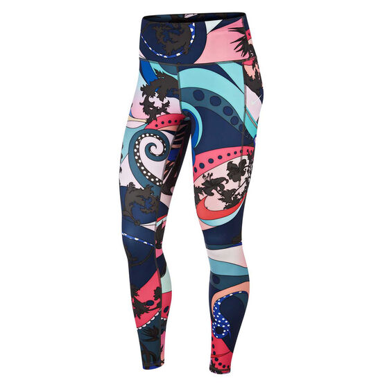 Nike Womens Icon Clash Epic Lux Running Tights Pink XS, Pink, rebel_hi-res
