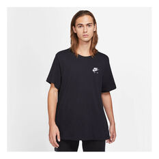 Nike Mens Sportswear Air LBR Tee Black XS, Black, rebel_hi-res