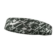 Nike Tapered Fury Headband Black / Grey OSFA, , rebel_hi-res