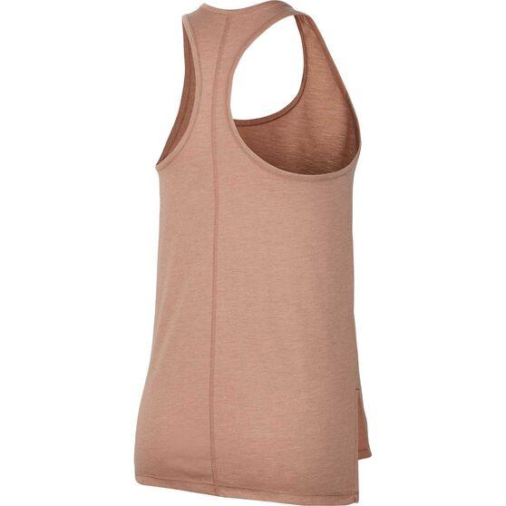 Nike Womens Yoga Tank, Beige, rebel_hi-res