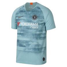 Chelsea FC 2018 / 19 Mens 3rd Jersey Blue S, Blue, rebel_hi-res