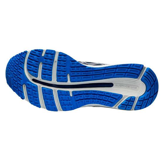 Asics GEL Cumulus 21 2E Mens Running Shoes, Blue / White, rebel_hi-res