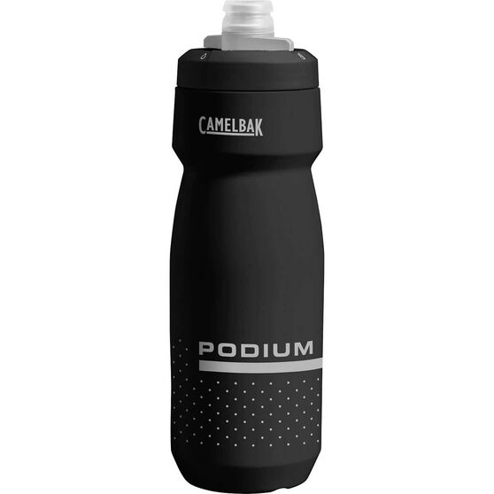 Camelbak Podium 700ml Water Bottle Black, Black, rebel_hi-res