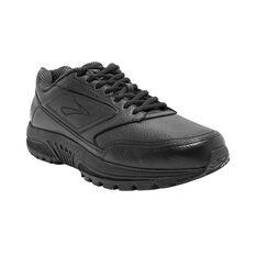 Brooks Dyad Walker 2E Mens Walking Shoes Black / Black US 8, Black / Black, rebel_hi-res