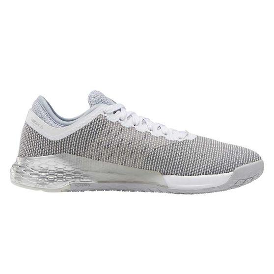 Reebok Nano 9 Womens Training Shoes, Grey / White, rebel_hi-res