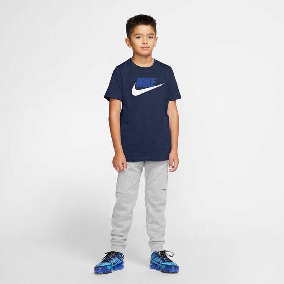 Nike Boys Sportswear Futura Icon Tee, Navy/White, rebel_hi-res
