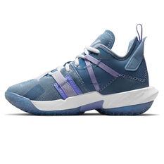 Jordan Why Not Zer0.4 Easter Kids Basketball Shoes Grey US 4, Grey, rebel_hi-res