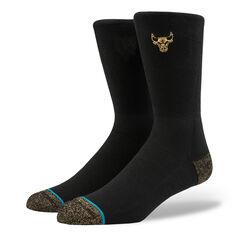 2b125883f58 Stance Mens Chicago Bulls Trophy Socks Black M