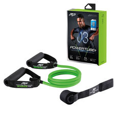 PTP PowerTube+ Medium Resistance Band Green Medium, , rebel_hi-res