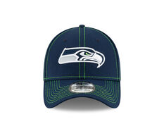 Seattle Seahawks Sideline Road 39THIRTY Stretch Fit Cap Navy S / M, Navy, rebel_hi-res