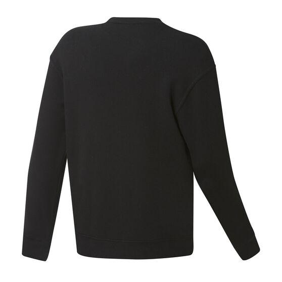 Miami Heat Mens Fleece Crew Sweatshirt, Black, rebel_hi-res
