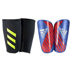 adidas X Pro Shin Guards Blue / Red XL, Blue / Red, rebel_hi-res