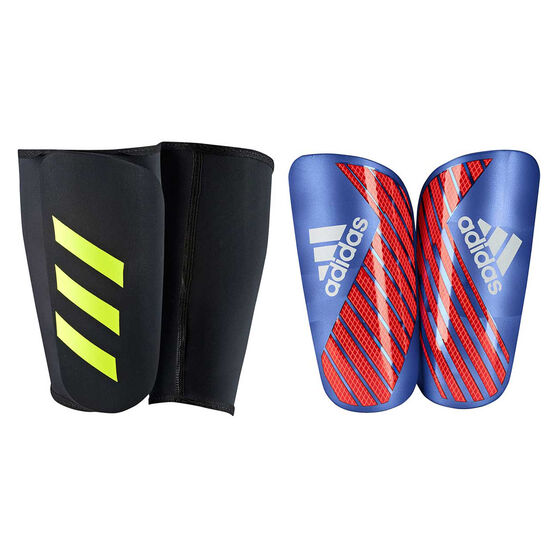 adidas X Pro Shin Guards, Blue / Red, rebel_hi-res
