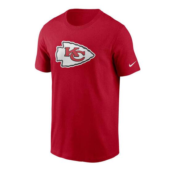 Kansas City Chiefs 2020 Mens Logo Essential Tee, Red, rebel_hi-res