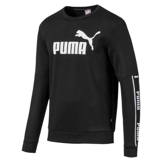 Puma Mens Amplified Crew Sweat Top, , rebel_hi-res