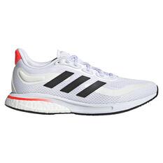 adidas Supernova Womens Running Shoes White/Black US 6, White/Black, rebel_hi-res