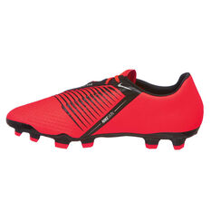 Nike Phantom Venom Academy Mens Football Boots Red / Silver US Mens 7 / Womens 8.5, Red / Silver, rebel_hi-res