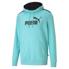 Puma Mens Amplified Hoodie Blue XS, Blue, rebel_hi-res