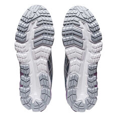 Asics GEL Quantum 90 2 Street Womens Casual Shoes Grey/Purple US 6, Grey/Purple, rebel_hi-res