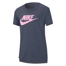 Nike Girls Sportswear Tee, Grey, rebel_hi-res