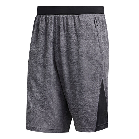 adidas Mens Axis Jacquard Shorts Black M, Black, rebel_hi-res