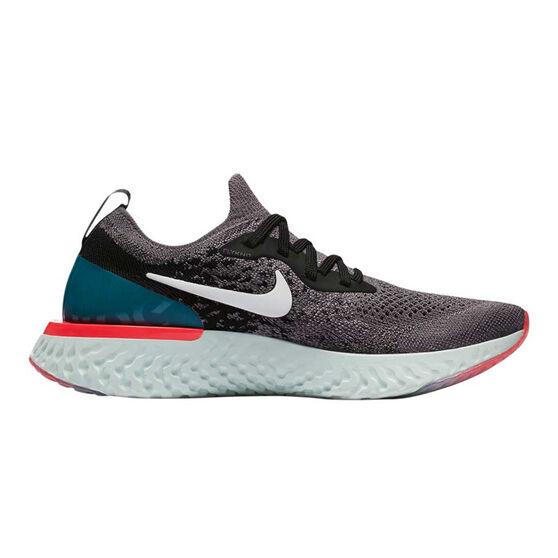 Nike Epic React Flyknit Kids Running Shoes, , rebel_hi-res