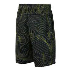 Nike Boys Dry Training Shorts Black / White XS Junior, Black / White, rebel_hi-res