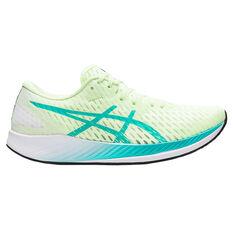 Asics Hyper Speed Womens Running Shoes Yellow/Blue US 6, Yellow/Blue, rebel_hi-res