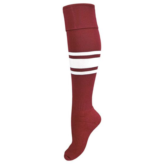 Burley Manly Sea Eagles Kids Football Socks, , rebel_hi-res