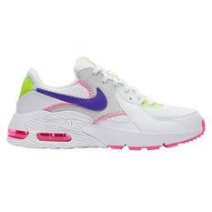 Nike Air Max Excee Womens Casual Shoes White/Indigo US 5, White/Indigo, rebel_hi-res