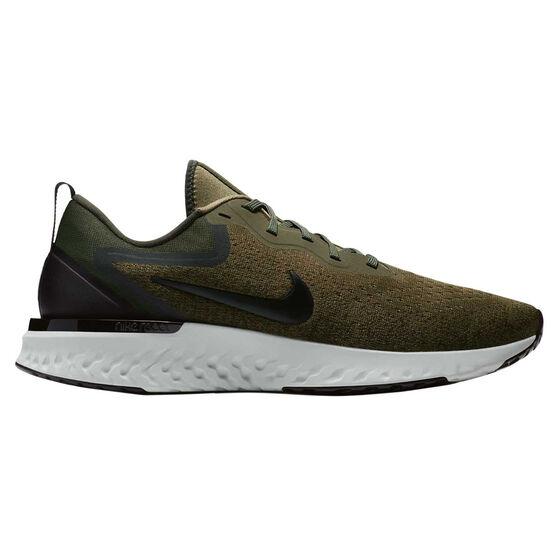 0241db40699553 Nike Odyssey React Mens Running Shoes Green   Black US 7